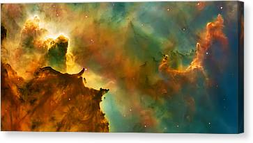Nebula Cloud Canvas Print