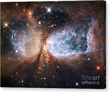 Nebula Sh 2-106, Hst Image Canvas Print by Nasa/esa/hubble Heritage Team (stsci/aura)