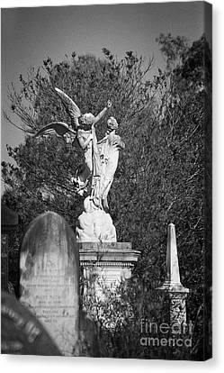 Necropolis 01 Canvas Print by Colin and Linda McKie