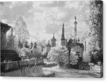 Necropolis 07 Canvas Print by Colin and Linda McKie
