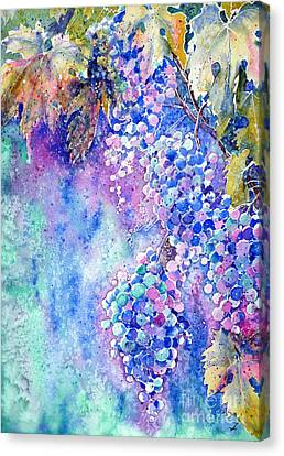 Nectar Of Nature Canvas Print by Zaira Dzhaubaeva