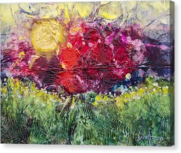 Nectarous Canvas Print by Ron Richard Baviello