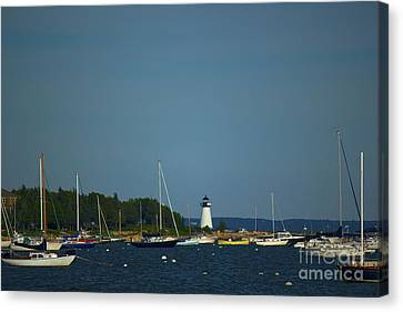 Ned's Point In Mattapoisett Canvas Print by Amazing Jules