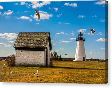 Ned's Point Lighthouse Canvas Print