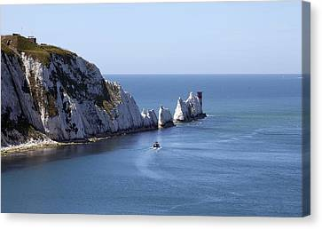 Needle's Isle Of Wight Canvas Print