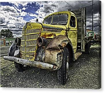 Needs New Headlights Canvas Print by Gary Neiss