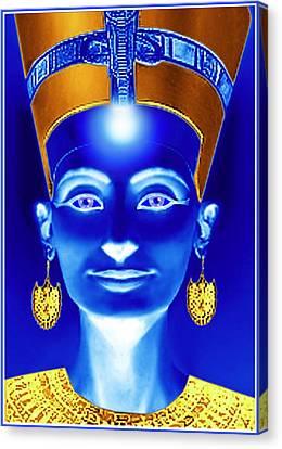 Nefertiti Canvas Print by Hartmut Jager