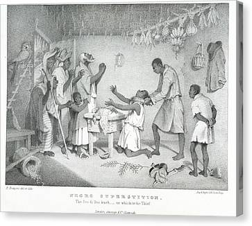 Negro Superstition Canvas Print by British Library