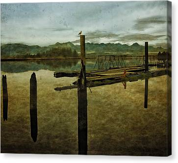 Nehalem Bay Reflections Canvas Print