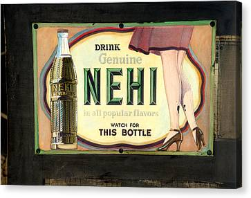 Nehi Canvas Print