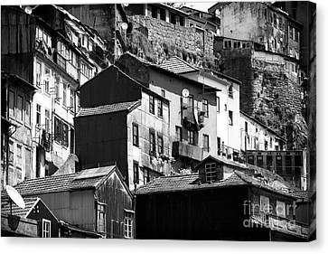 Neighborhood Living Canvas Print by John Rizzuto