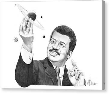 Neil Degrassee Tyson Canvas Print