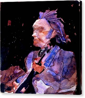 Neil Young Canvas Print by Sandra Stone