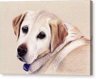 Nellie Canvas Print by Katherine Plumer