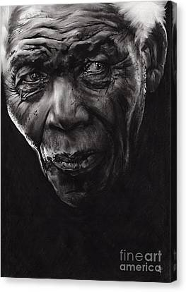 Nelson Canvas Print by Paul Davenport