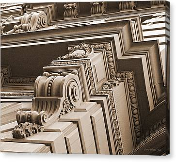 Neo-classical Architecture Canvas Print