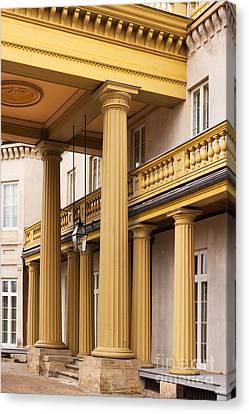 Neo Classical Columns Canvas Print by Barbara McMahon
