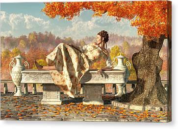 Neoclassical Fall Canvas Print