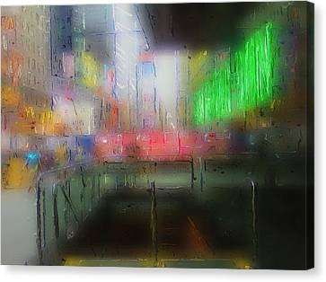 Neon Expressions Canvas Print by Steve K