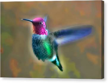 Canvas Print - Neon Hummer by Kenneth Haley