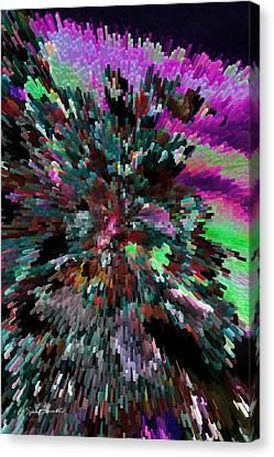 Dean Russo Canvas Print - Neon Night by Sylvia Thornton