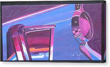 Neon Reflections IIi Canvas Print