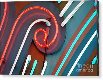 Neonics Canvas Print by Dan Holm