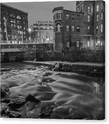 Neponset At Night Canvas Print