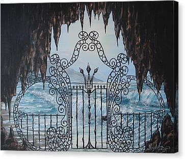 Neptune's Gate Canvas Print