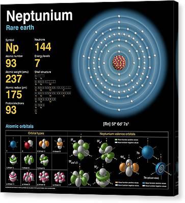 Neptunium Canvas Print by Carlos Clarivan