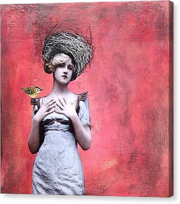 Nesting IIi Canvas Print by Susan McCarrell