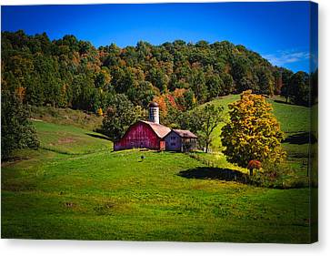 nestled in the hills of West Virginia Canvas Print by Shane Holsclaw