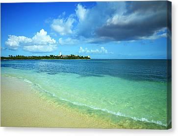 Nettle Bay Beach St. Maarten Canvas Print