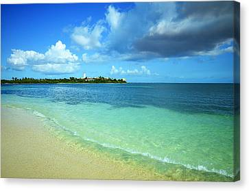 Nettle Bay Beach St. Maarten Canvas Print