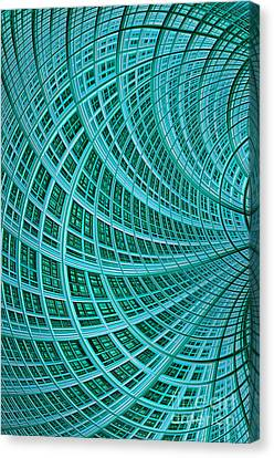 Network Canvas Print by John Edwards