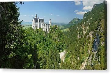 Neuschwanstein Castle 2 Canvas Print by Rudi Prott