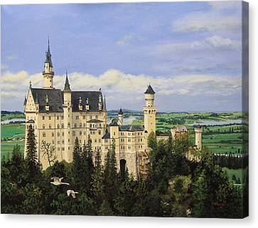 Neuschwanstein Castle Germany Canvas Print