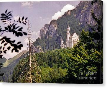 Neuschwanstein Castle Canvas Print by Halifax Artist John Malone