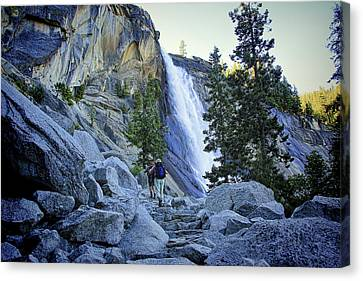 Nevada Falls Canvas Print by Philip Tolok