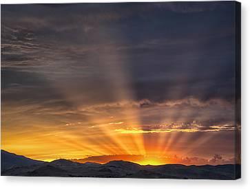 Nevada Sunset Canvas Print