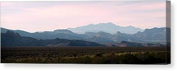 Nevada Sunset Canvas Print by Kay Novy