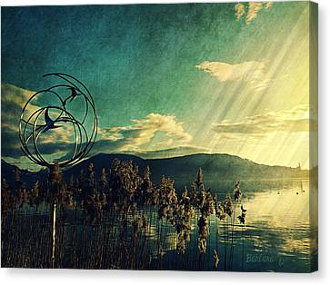 Never Forget The Beauty  Canvas Print by Barbara Orenya