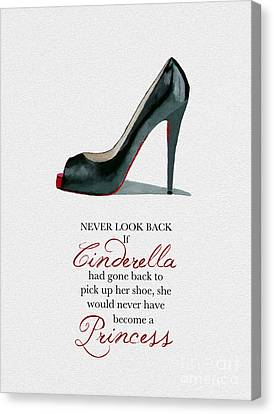 Never Look Back Canvas Print by Rebecca Jenkins