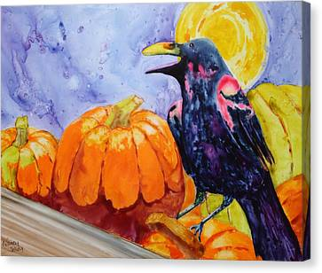 Nevermore Canvas Print by Nancy Jolley