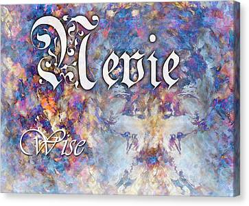 Nevie - Wise Canvas Print by Christopher Gaston