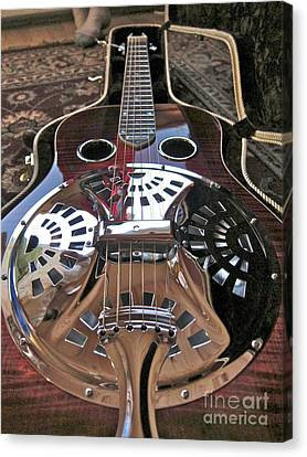 New 6 String Guitar Canvas Print