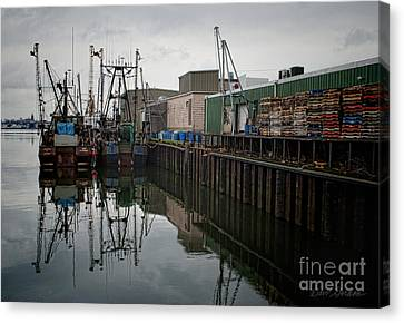 New Bedford Waterfront No. 4 Canvas Print by David Gordon
