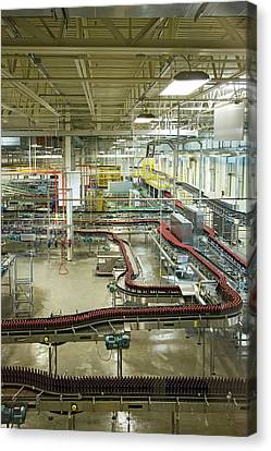 Fort Collins Canvas Print - New Belgium Brewery by Jim West
