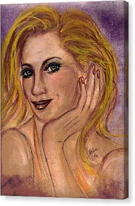 New Blond Canvas Print by Desline Vitto