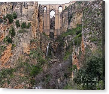 New Bridge V2 Canvas Print